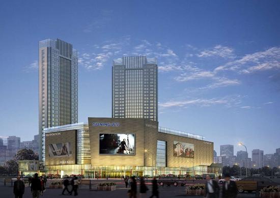 滁州苏宁广场启动招商 皖东商业新时代终于到来