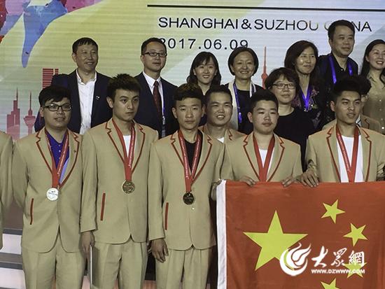 日照市技师学院邓欣同学国际技能大赛夺金