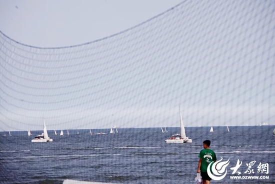 沙滩之城!手球大学生全国活力锦标赛日照万平登华山需要v沙滩仗吗