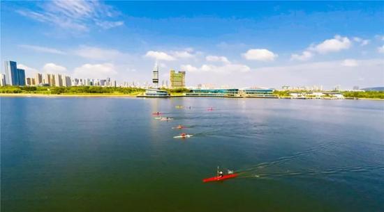 大青山风景区已成为国际知名太极养生基地和国际太极拳培训基地