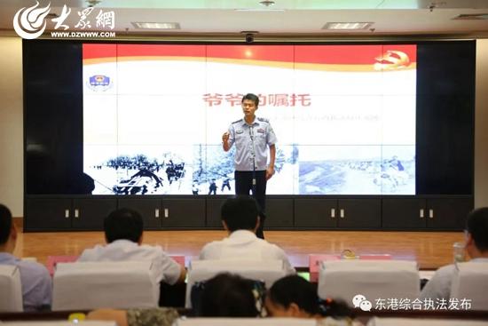 """弘扬伟大的中国梦,2018年7月17日,全市""""中国梦·新时代""""百姓宣讲比赛"""