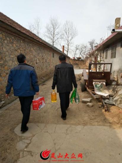 岚山区各基层医疗卫生单位开展节前走访慰问活动