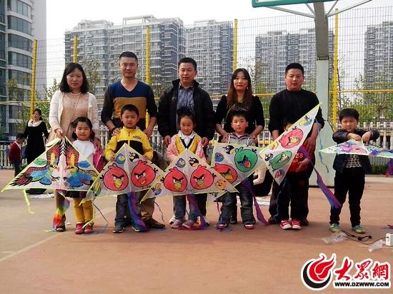 济南路小学幼儿园举办亲子风筝彩绘diy活动