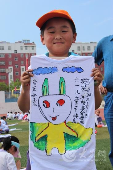 孩子手绘的小动物