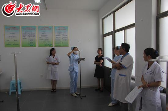 市妇幼保健院开展医院感染监控小组理论考核及操作