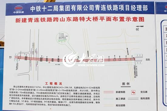 日照青日连铁路_视频日照青日连铁路日照段开工工期4年