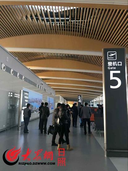执飞的上海(浦东)—日照—大连航线航班将实现首航