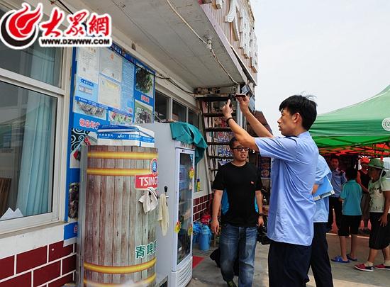 杨妮)入夏来,日照市也进入了旅游旺季,去海边吃顿烧烤喝杯扎啤,在酒店