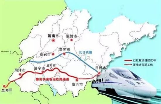 北京;向西与郑徐客专等连接,可通达郑州,西安,宝鸡,兰州,乌鲁木齐等城