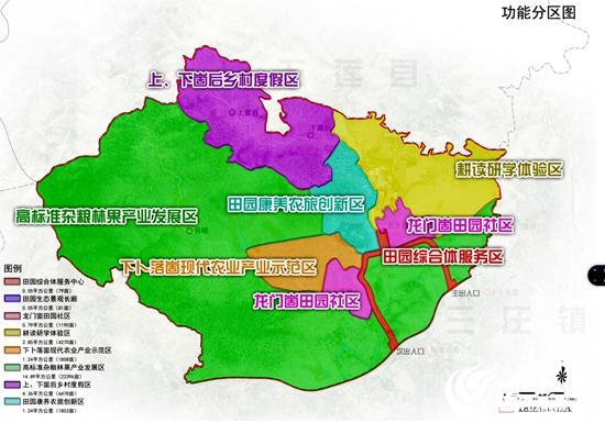 """而素有""""东港小西藏""""之称的三庄镇依托龙门崮风景区,辐射带动周边旅游"""