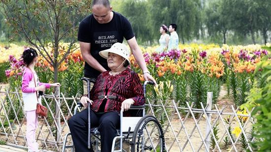 奶奶喜欢百合花.jpg