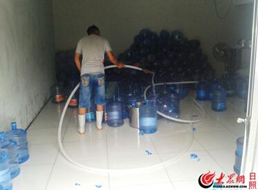 日照饮用桶装水质量调查