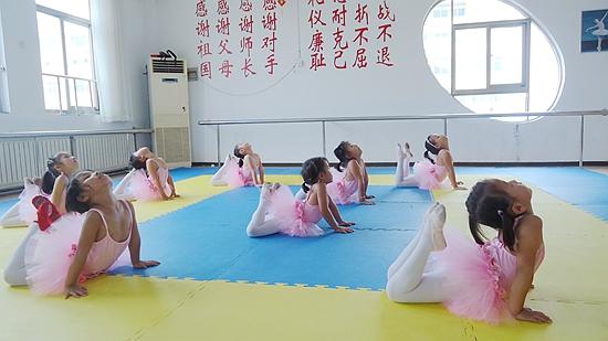 舞蹈课_幼儿园图库_大众网